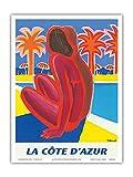 Poster La Côte d'Azur – Süd von Frankreich –