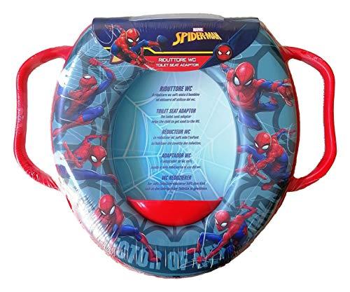 Reductor de inodoro para baño, diseño de Spiderman Marvel, universal