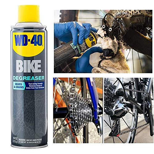Great Deal! Bike Degreaser Foaming Spray Bicycle Chain Drivetrain Gear Cleaner 10 Oz