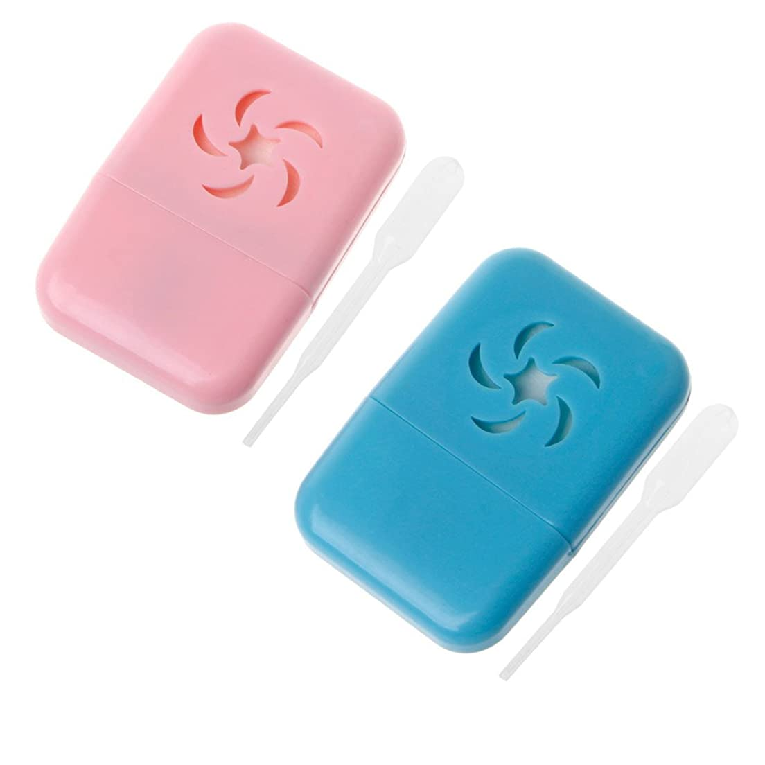 険しい礼儀リールSimpleLife USB車アロマセラピーディフューザーアロマ加湿器エッセンシャルオイルフレッシュポータブルカラーランダムで3.7x5.5cm / 1.46x2.17in