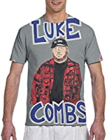 Luke Combs What You See is What You Get Men T Shirt Funny Graphic Cool T-Shirt Tops