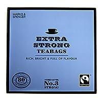 英国マークス&スペンサー エクストラストロング紅茶 80ティーバッグ 250g MARKS&SPENCER EXTRA STRONG 80teabags 250g【海外直送品】【並行輸入品】