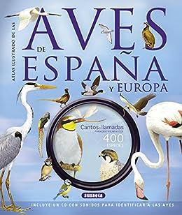 Aves de España y Europa (atlas ilustrado) eBook: Susaeta, Equipo ...