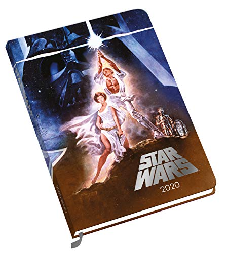 Star Wars 2020 Diary - Official A5 Week To View Diary