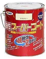 アサヒペン 油性スーパーコート 1.6L アイボリー