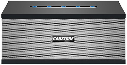 Cabstone SoundBlock (eleganter Bluetooth-Lautsprecher mit 360° Klangfeld), schwarz