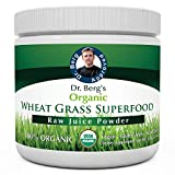 Dr. Berg's Wheat Grass Superfood Powder - Raw Juice...