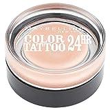 Maybelline Eye Studio Color Tattoo 24H - 101 Breathless - Oogschaduw sombra de ojos Nude Brillo - Sombras de ojos (Nude, Breathless, 1 Colores, Brillo, Crema, Mujeres)