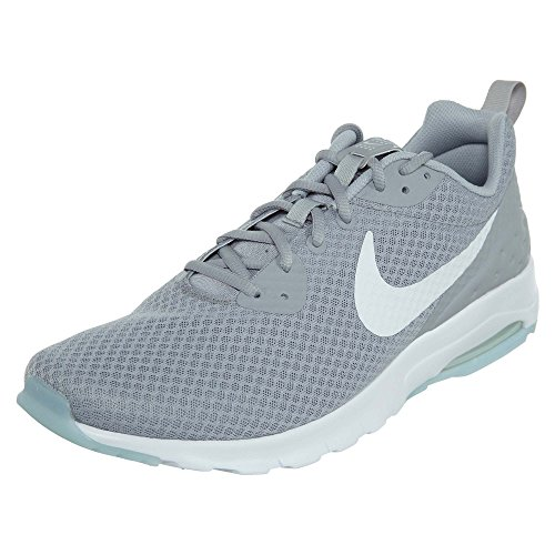 Nike Unisex Air Max Motion Low Cross Trainer, Wolf Grey/White, 7 US Men