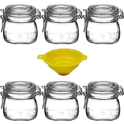 Viva-artículos de Uso doméstico - 6 Cierre-Vasos/se Puede emplear como dosis/Cristal para...