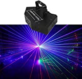 ZhanMa Éclairage de scène- Parti Strobe lumière Éclairage scénique DMX512 RGB LED Derby DJ Disco Eclairage Son étage de Couleur Activé for Le Cadeau de Noël de Concert Thanksgiving