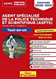 Concours Agent spécialisé de la police technique et scientifique (ASPTS) Catégorie C - Tout-en-un - Concours 2020-2021