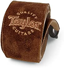 Taylor Guitars Chocolate Suede Logo Guitar Strap