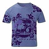 Camiseta de Playa surfera para Vacaciones de Verano y Festivales Life'S A Beach para Hombre en Azul Talla M
