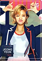 韓国 K-POP ☆TWICE トゥワイス JUNG YEON ジョンヨン☆ クリアファイル A4サイズ クリアホルダー ②