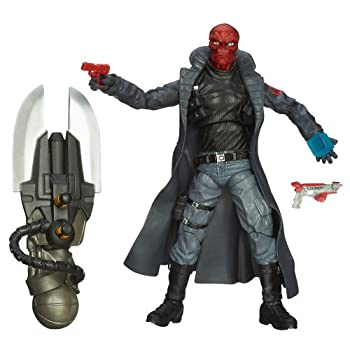 Captain America Marvel Legends Agents of Hydra Figure Red Skull 6 Inch