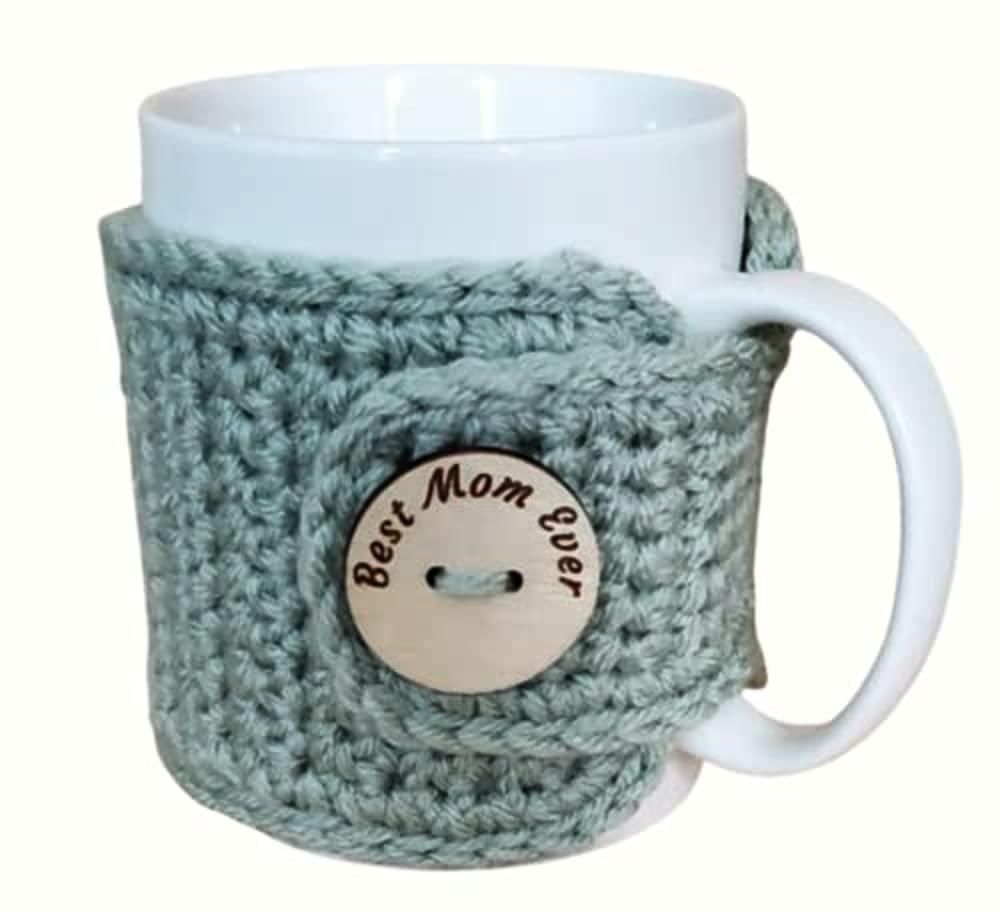 Translated Best Arlington Mall Mom Ever Cozy Sage Mug