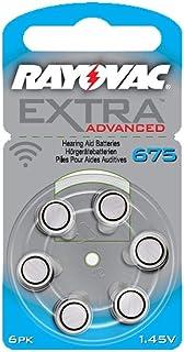 رايوفاك بطارية متوافقة مع اجهزة تقوية السمع - سماعات الأذن لذوي السمع المحدود - مقاس 675  - عدد 10مغلفات