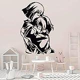 LKJHGU Stickers muraux en Vinyle Anime Autocollants de Personnage de Dessin animé Portes et fenêtres Chambre d'enfants Chambre décoration Papier Peint