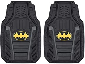 Armored Batmobile Liners - Premium Batman Car Floor Mats for Auto Truck SUV - Deep Molded All Weather Protection