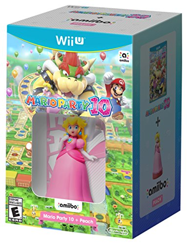 Mario Party 10 + Peach amiibo - Wii U -  Nintendo