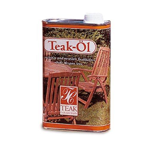 Belardo Garten Möbel - Teak- und Hartholzöl, 1 Liter für Holzmöbel