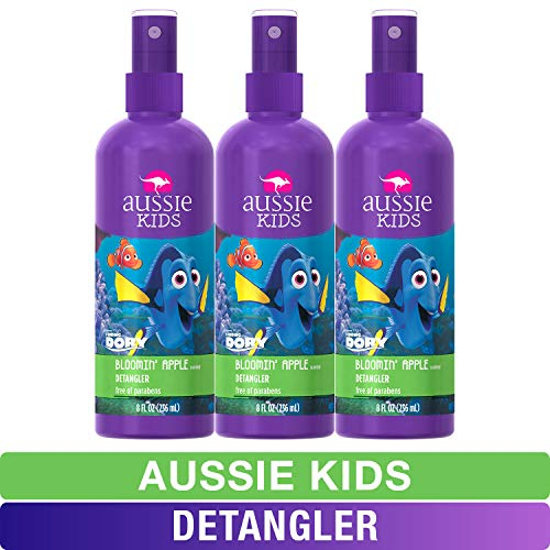Aussie Kids Detangler, Finding Dory, Bloomin' Apple, 8 fl oz, Pack of 3 (Packaging may vary)
