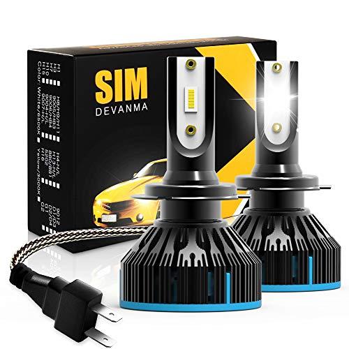 Simdevanma LED Headlights Bulbs