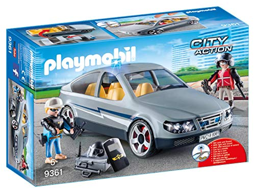 PLAYMOBIL City Action Coche Civil Fuerzas Especiales