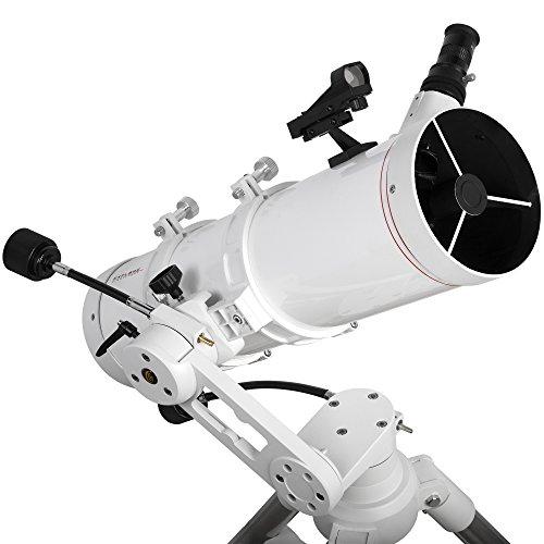 Explore Scientific FL-N130600MAZ01 Newtonian Telescope with TWI 1, 130mm, White