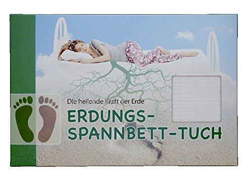 tz-gesundheit Erdungs-Spannbettuch (180x200 cm)