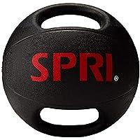 Spri Dual Grip Xerball Medicine Ball, 6 lb