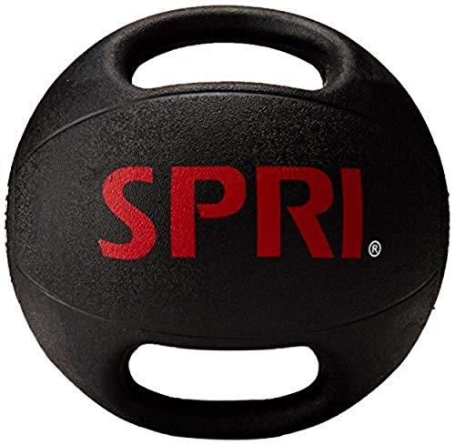 SPRI Dual Grip Xerball Medicine Ball, 8-Pound
