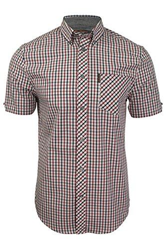 Ben Sherman - Camisa de manga corta para hombre