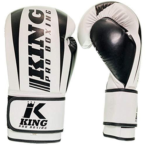 King PRO Boxing Boxhandschuhe, Revo 2, weiß Größe 16 Oz
