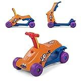 Baby Vivo Scooter Trotteur Pour Bébé Porteur 2en1 Marchettes Enfant Voiture Enfants Multifonctionnel - Orange