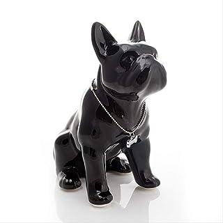 animali cani bulldog cuccioli Ditale in ceramica ditali di porcellana