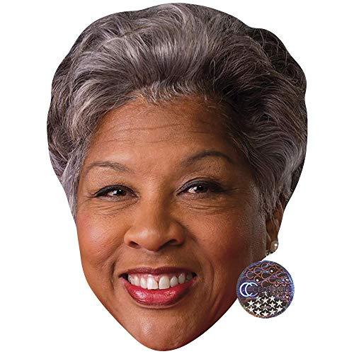 Celebrity Cutouts Joyce Beatty (Smile) Maske aus Karton
