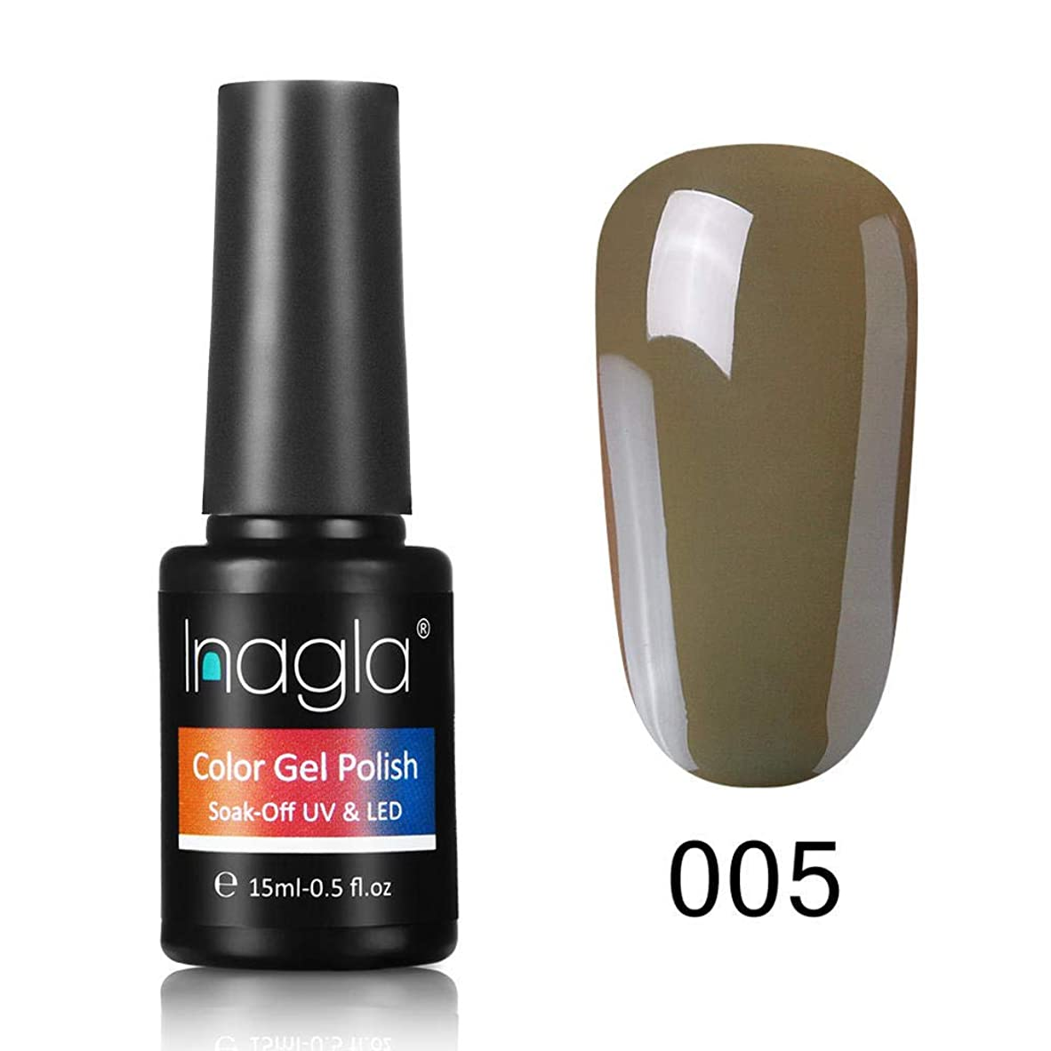 インサートコイン種類Inagla ジェルネイル カラージェル 1色入り 15ml-GNS005