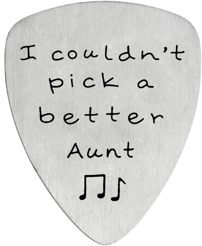 I Couldn't Pick A Challenge the lowest price of Japan safety Better for Gift Jewelry Guitar Aunt
