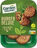 GARDEN GOURMET Burger Deluxe Vegetariano Refrigerado, 180g