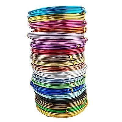 Aluminum Wire, 20 Colors