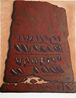 moshe castel lithograph