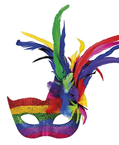Boland 00211 Masque Carnaval Arc-en-Ciel