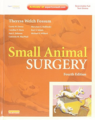 Small Animal Surgery Expert Consult - Online and print, 4e by Theresa Welch Fossum DVM MS PhD Dipl ACVS(2012-08-16)の詳細を見る