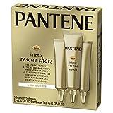 Pantene Rescue Shots Hair Ampoules Treatment, Pro-V Intensive Repair of Damaged Hair, 1.5 Fl Oz (Pack of 3)