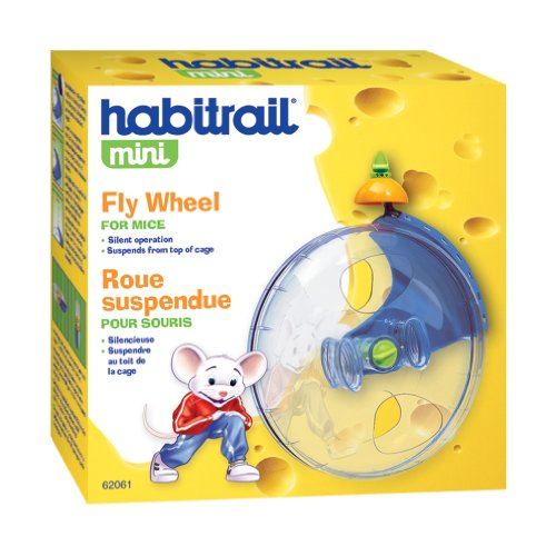 Habitrail Mini Exercise Hamster Wheel, Hamster Cage Accessories for Small Animal Habitats, Model:62061