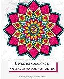 Livre de coloriage anti-stress pour adultes: 120 mandalas nature et animaux