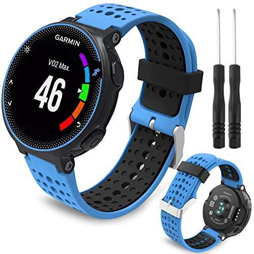 Th-some - Cinturino di ricambio per orologio Garmin Forerunner 235, compatibile con Forerunner 735XT