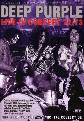Live In Concert 72/73 [DVD]